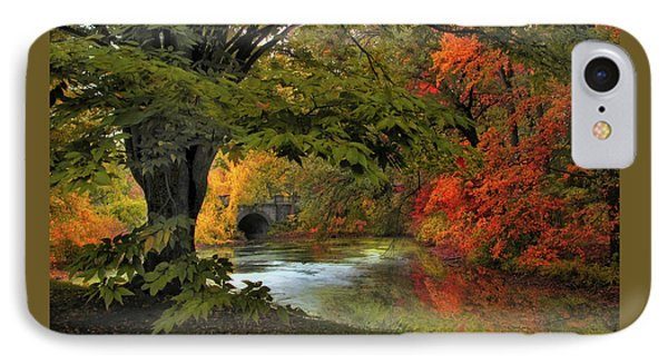 IPhone Case featuring the photograph Autumn Reverie by Jessica Jenney