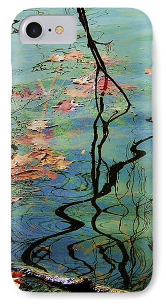 Autumn Ripples 9 IPhone Case by Todd Sherlock