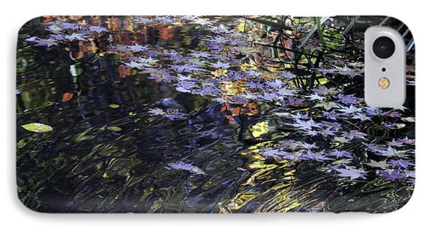 Autumn Ripples IPhone Case by Linda Geiger