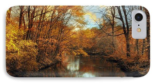 Autumn River Lights Phone Case by Jessica Jenney