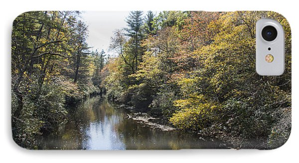 Autumn River IPhone Case by Ricky Dean