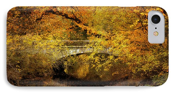 Autumn River Views Phone Case by Jessica Jenney