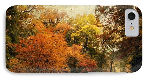 Autumn Settles In IPhone Case