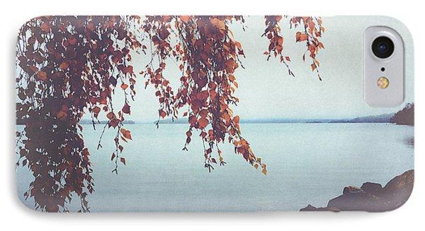 IPhone Case featuring the photograph Autumn Shore by Ari Salmela