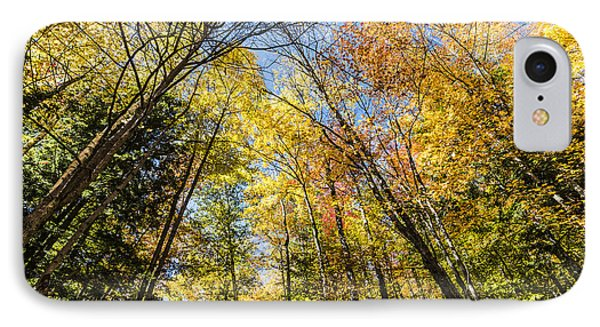 IPhone Case featuring the photograph Autumn Skies by Anthony Baatz