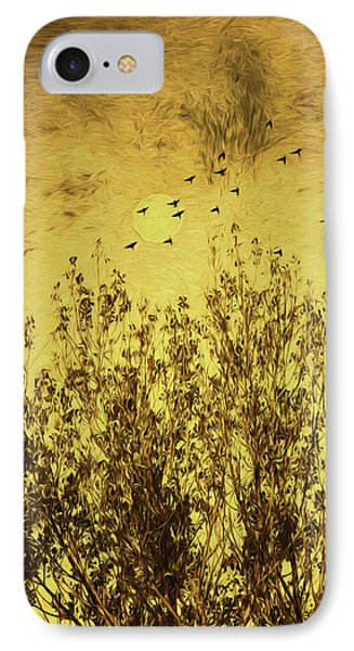 Autumn Song IPhone Case by Diane Schuster