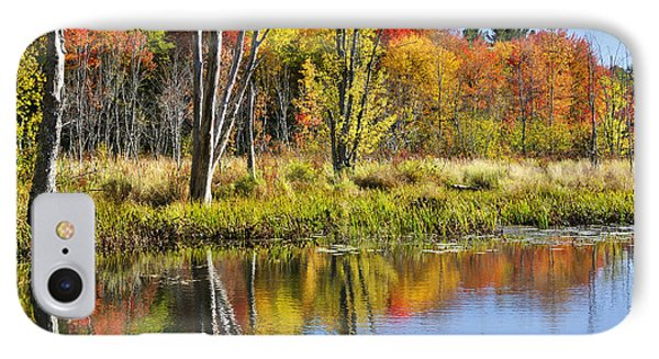 Autumn Splendor - Bolton Flats IPhone Case by Luke Moore