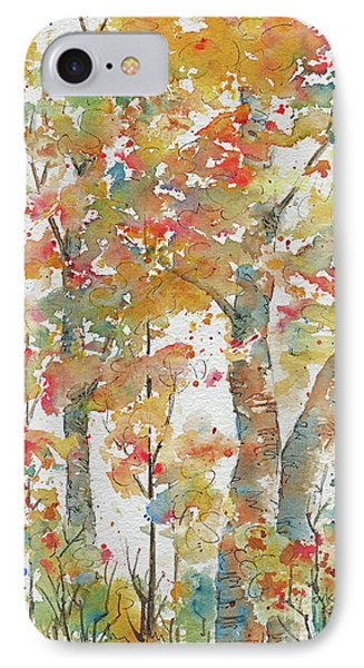IPhone Case featuring the painting Autumn Splendor by Pat Katz