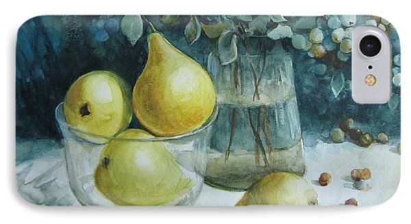 IPhone Case featuring the painting Autumn Still Life 3 by Elena Oleniuc