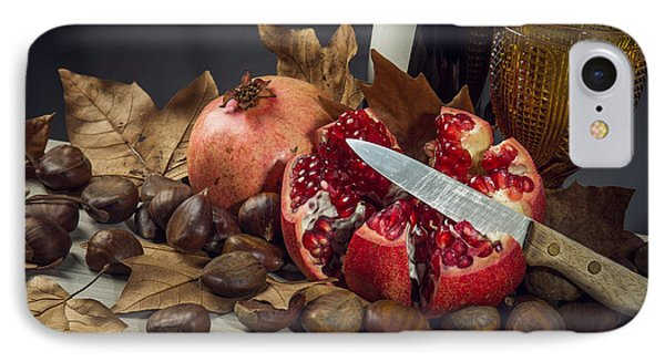 Autumn Still-life IPhone Case by Carlos Caetano