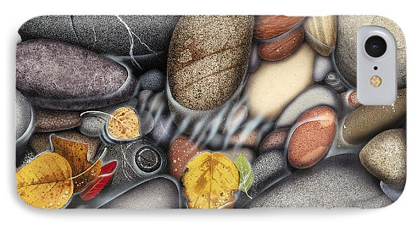 Autumn Stones IPhone 7 Case by JQ Licensing