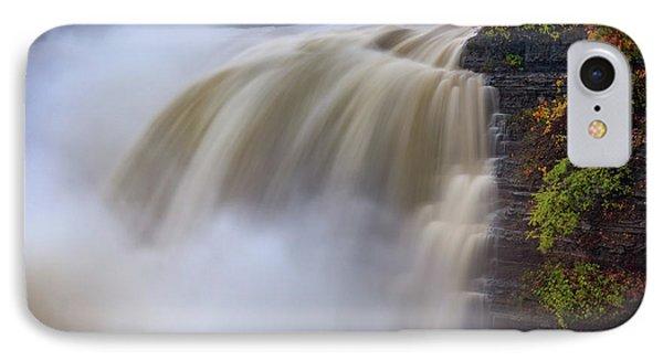 Autumn Storm At The Upper Falls IPhone Case