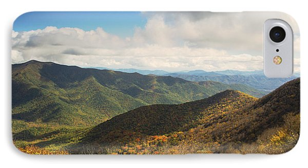 Autumn Storm Clouds Blue Ridge Parkway IPhone Case