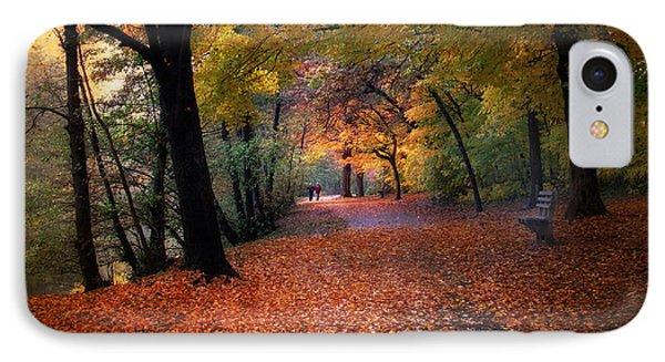Autumn Stroll Phone Case by Jessica Jenney