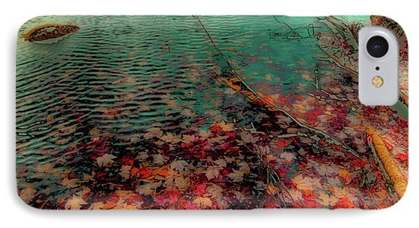 IPhone 7 Case featuring the photograph Autumn Submerged by David Patterson