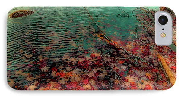 IPhone Case featuring the photograph Autumn Submerged by David Patterson