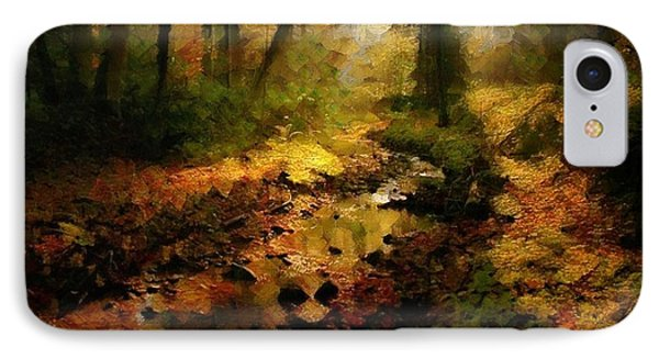Autumn Sunrays IPhone Case