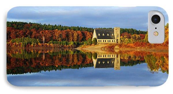 Autumn Sunrise At Wachusett Reservoir IPhone Case