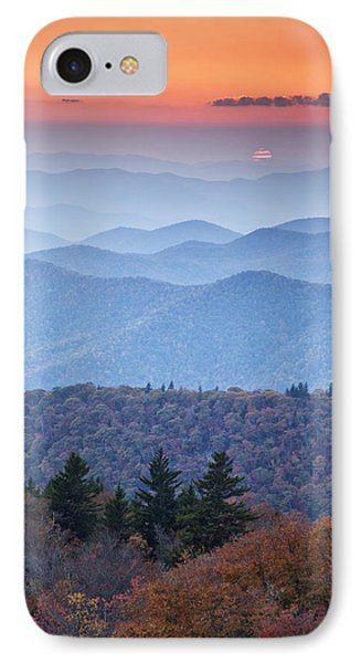 Autumn Sunset On The Parkway Phone Case by Rob Travis
