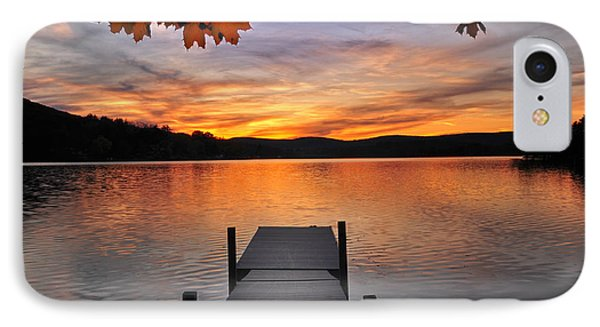 Autumn Sunset Phone Case by Thomas Schoeller