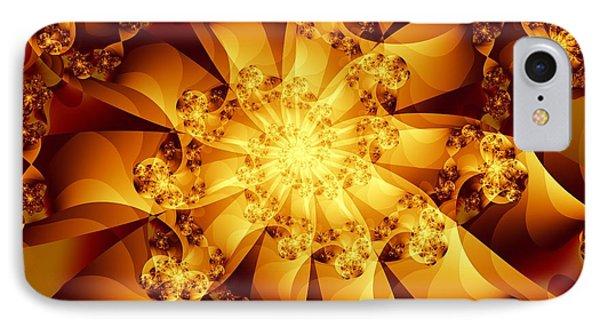 Autumn Sunshine IPhone Case by Michelle H