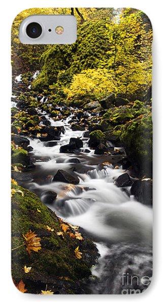 Autumn Swirl Phone Case by Mike  Dawson
