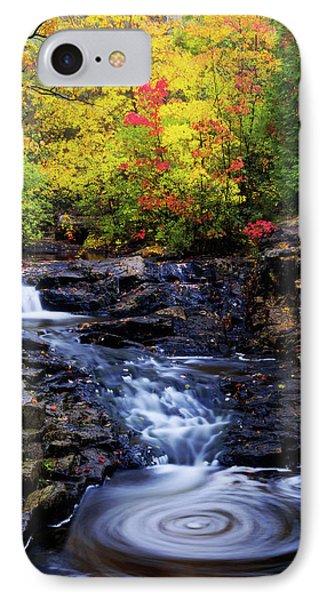 Autumn Swirls IPhone Case