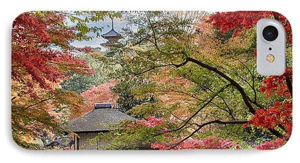 IPhone Case featuring the photograph Autumn  by Tad Kanazaki