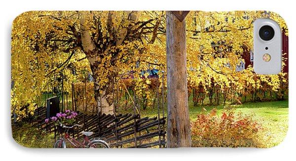 Rural Rustic Autumn IPhone Case by Tamara Sushko
