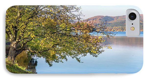 Autumn Time At Lake IPhone Case by Jenny Rainbow