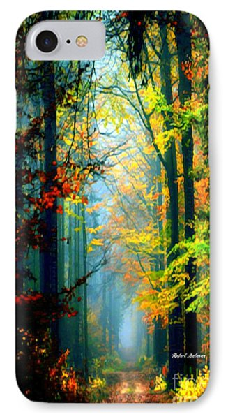 Autumn Trails In Georgia IPhone Case by Rafael Salazar