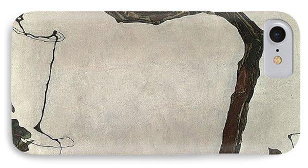 Autumn Tree Phone Case by Egon Schiele