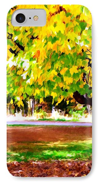 Autumn Trees 6 Phone Case by Lanjee Chee