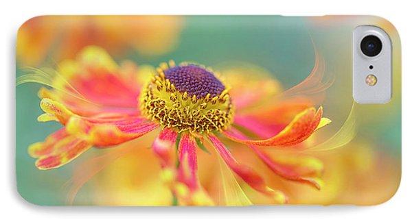Autumn Twirl IPhone Case by Jacky Parker