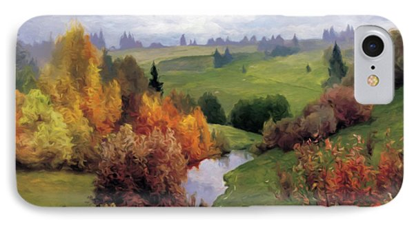 Autumn Valley Of Dreams IPhone Case