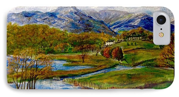 Autumn View Of The Trossachs IPhone Case