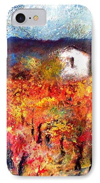 Autumn Vineyard IPhone Case
