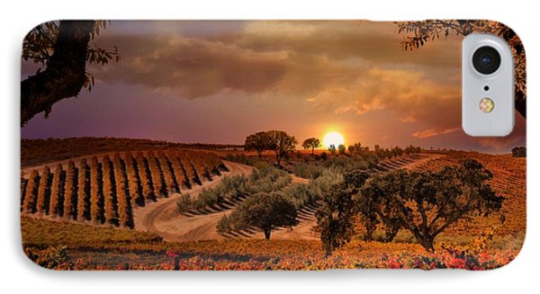 Autumn Vineyard Phone Case by Stephanie Laird