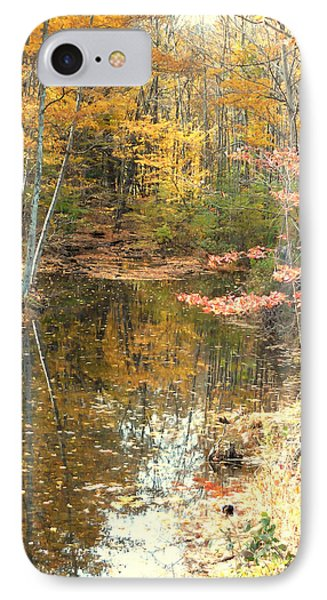 Autumn Vintage Landscape 1 IPhone Case by Lanjee Chee