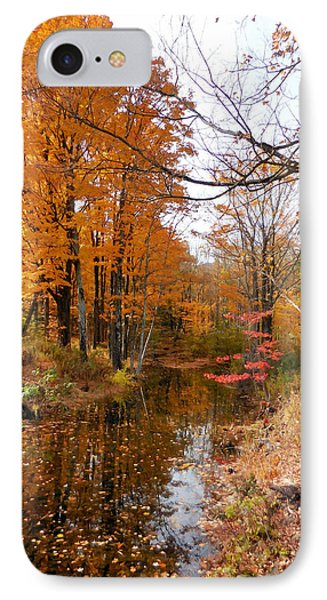 Autumn Vintage Landscape 2 IPhone Case by Lanjee Chee