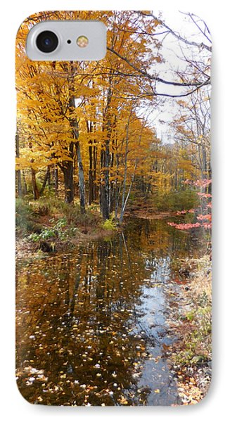 Autumn Vintage Landscape 3 IPhone Case by Lanjee Chee