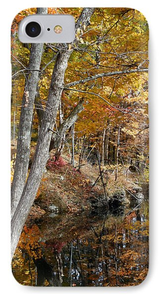 Autumn Vintage Landscape 4 IPhone Case by Lanjee Chee
