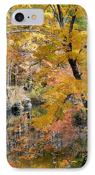 Autumn Vintage Landscape 6 IPhone Case by Lanjee Chee