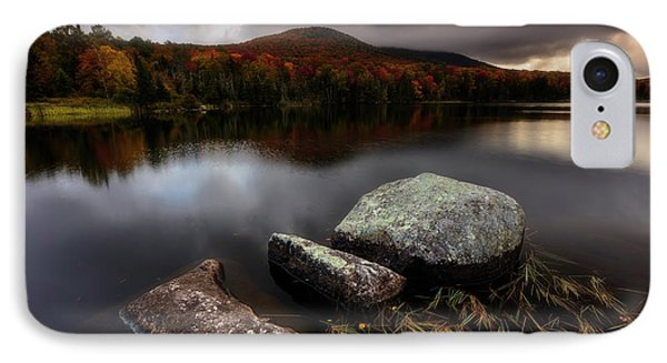 Autumn Visit IPhone Case by Mike Lang