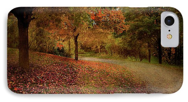 IPhone Case featuring the photograph Autumn Walk by Elaine Manley