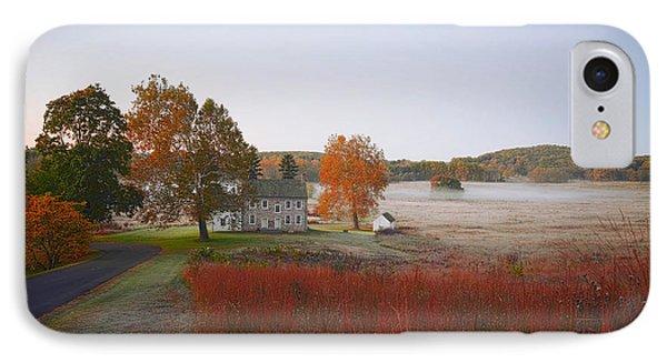 Autumn Walk In Valley Forge IPhone Case