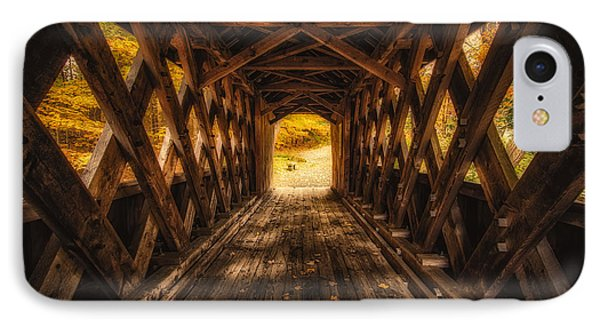 IPhone Case featuring the photograph Autumn Walk by Robert Clifford