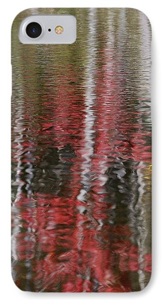 IPhone Case featuring the photograph Autumn Water Color by Susan Capuano