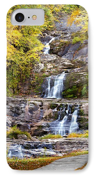 Autumn Waterfall IPhone Case by Brian Caldwell