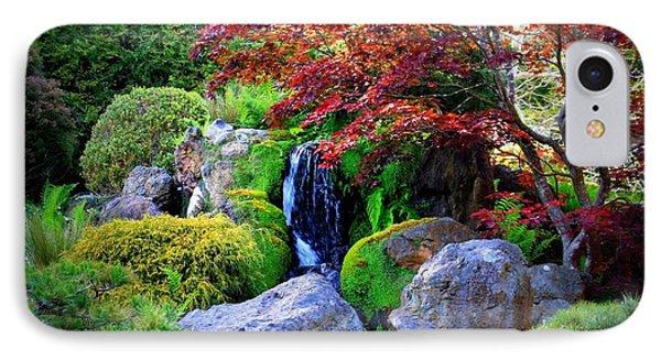 Autumn Waterfall Phone Case by Carol Groenen